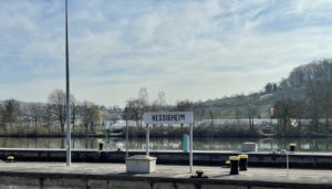 Schleusenanlage Hessigheim